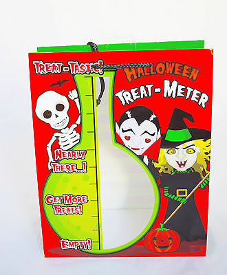 Halloween Trick Or Treat Bag Plastic Party Decorations Loot Fillers ...