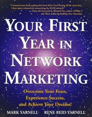 Your First Year In Network Marketing by Yarnell, Rene Reid Paperback Book The