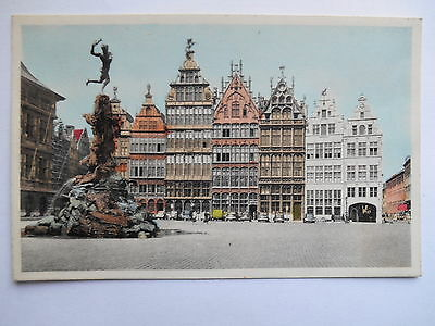 """CPSM """"Anvers - Grand place et monument Brabo"""""""
