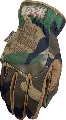 Genuine Mechanix Fast Fit New Woodland Gloves All Sizes Tactical Fastfit