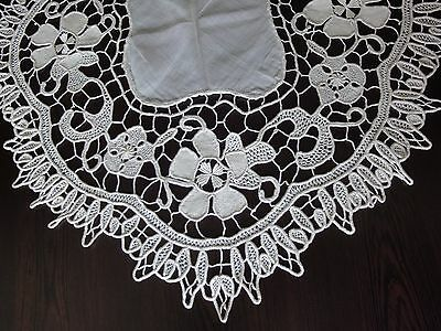 Gorgеous Antique Grenadine Crochet Tablecloth HandMade with Unique Technique