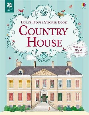 Country House Sticker Book (Doll's House Sticker Books),New Condition