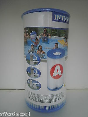 Intex Type A  Replacement Swimming Pool Filter Cartridge. Also Type 3 / Type III