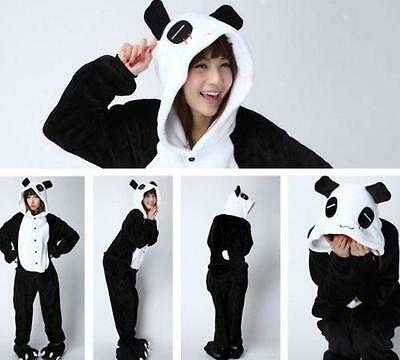 2017 NEW Unisex Adult Pajamas Kigurumi Cosplay Costume Animal  Sleepwear Panda