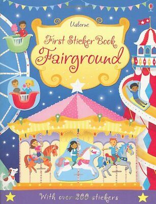First Sticker Book Fairground (Usborne First Sticker Books),New Condition