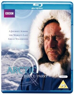 Arctic With Bruce Parry Blu-Ray (2011) Bruce Parry cert PG 2 discs ***NEW***