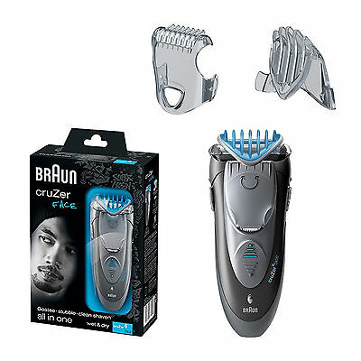 Braun Cruzer Z6 Face Shaver Styler Hair Trimmer Electric Wet & Dry Rechargeable