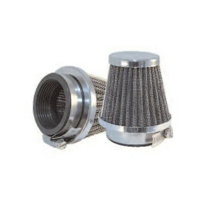 CHROME EMGO MOTORCYCLE AIR FILTER POD 52mm
