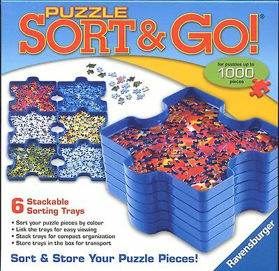 Ravensburger SORT & GO Jigsaw Puzzle Sorting Trays