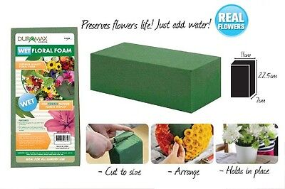 6pcs or 12 pcs Wet Floral Foam Brick Block 100% Brand New