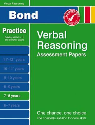 Bond First Papers in Verbal Reasoning 7-8 years (Bo..., Baines, Andrew Paperback