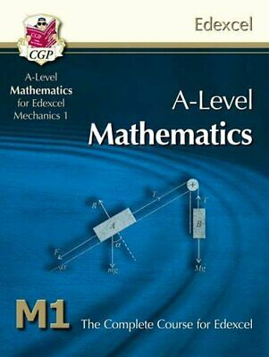 A-Level Maths for Edexcel - Mechanics 1: Student Book by CGP Books Book The