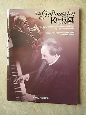 The Godowsky Kreisler Collection for violin and piano pub. Carl Fischer NEW
