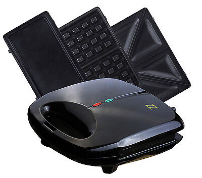 Z&Z Inc 3 in 1 Sandwich, Waffle and Breakfast Maker