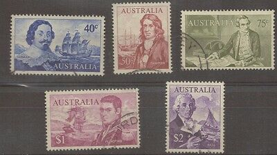 1966 Australia 40c - $2 Navigators VFU Used Stamp