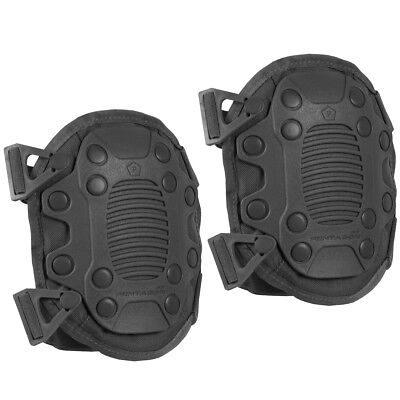 Pentagon Lithos Knee Pads Security Forces Police Airsoft Protective Gear Black