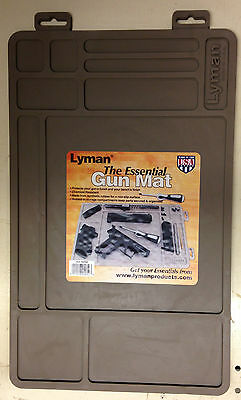 NEW Lyman Essential Gun Mat Molded Storage Campartments-Worldwide ship