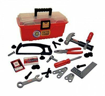 My First Craftsman 30 pieces Tool Box Set Kids Toddler Training Play Toy