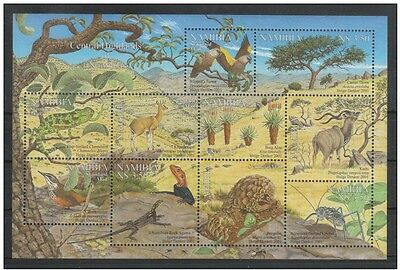 Namibia 2001 Flora and Fauna from the Central Highlands. MNH