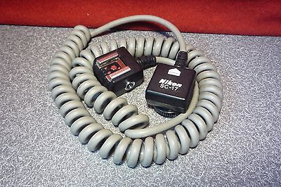 Nikon SC-17 TTL Remote Sync Cable Cord | for Speedlights | T#6658