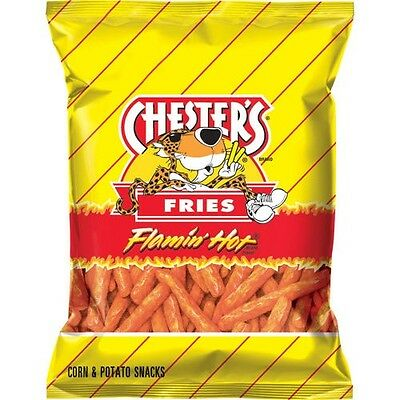 Chester's Fries Chips, Flamin' Hot, 1.75 oz 32ct