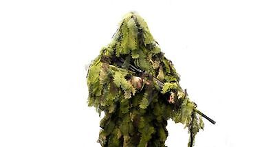 New XL/XXL Ultimate Game Woodland Leaf Camo Hunting Forest Ghillie Suit 5 Piece