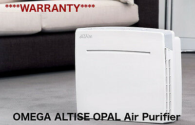 NEW Omega Altise OPAL Air Purifier - White WARRANTY RRP $249