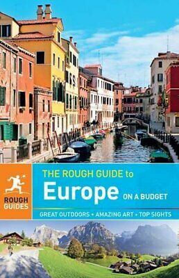 The Rough Guide to Europe on a Budget by Luke Waterson Book The Cheap Fast Free