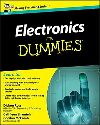 Electronics for Dummies - UK Edition by McComb, Gordon Paperback Book The Cheap