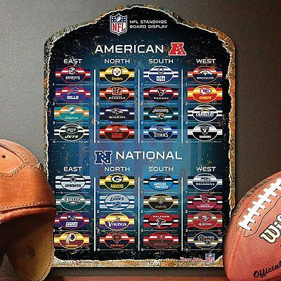 NFL MAGNETIC STANDINGS BOARD Magnets Chart ~ Officially Licensed ~ All 32 Teams