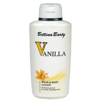 Bettina Barty VANILLA Hand & Body Lotion 500ml Bodylotion Feuchtigkeitspflege