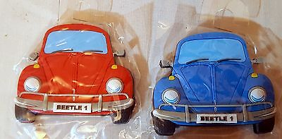 Volkswagen Beetle Car 7 cm Rubber Fridge Magnetic Gift Souvenir x 1