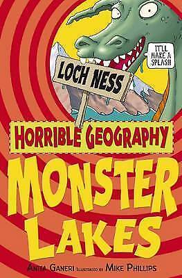 Monster Lakes (Horrible Geography)  New Book