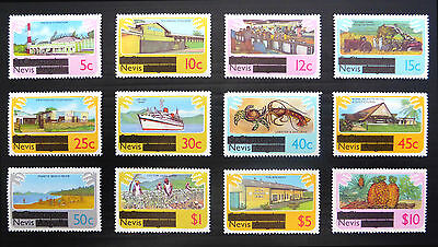 NEVIS 1981 Definitives 12 Values to $10 As Shown U/M FP7676