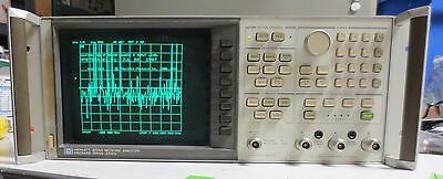 HP Agilent 8753A Vector Network Analyzer 300kHz-3GHz