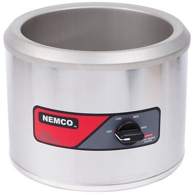 Countertop Soup/Food Warmer 11 Qt Nemco Stainless Steel 6101A