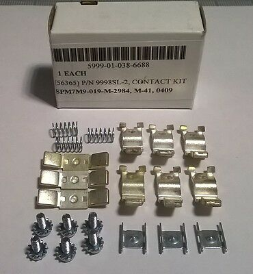 Contact Kit Square D 9998SL2 Contactor/Starter, REPLACEMENT Kit 3-Pole, 600VAC