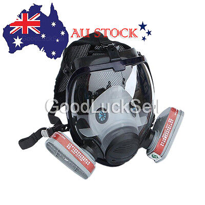 7 in 1 Facepiece Respirator Painting Spraying For 3M 6800 Full Face Gas Mask AU