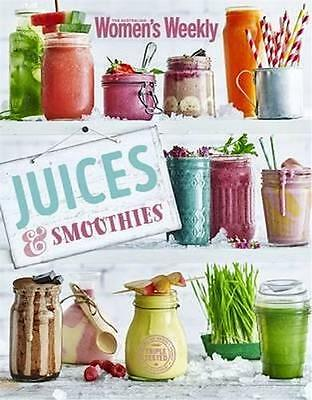 NEW Juices & Smoothies By The Australian Women's Weekly Paperback Free Shipping