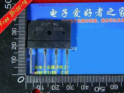 5PCS KBJ1506 GBJ1506 15A 600V rectifier bridge#SE415-1