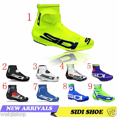 New Bicycle Breathable Shoe Covers Bike Cycling Zippered Overshoes Windproof