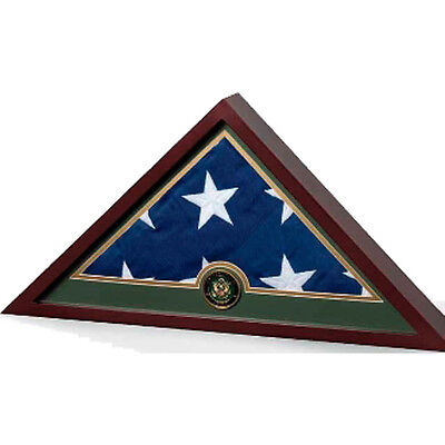 Flag Frame - Army, Army Flag Display Case Hand Made By Veterans