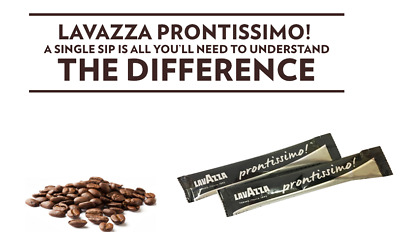 LavAzza Prontissimo Sachets 2g Hotels Guest House Holiday Portions