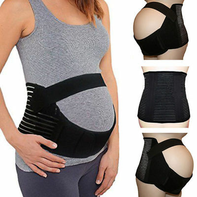 New Mother Maternity Pregnancy Support Belly Band Prenatal Postpartum Belt MES