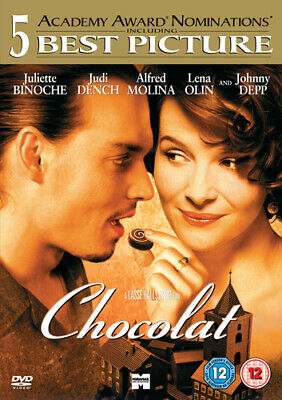 Chocolat DVD (2001) Juliette Binoche, Hallström (DIR) cert 12 Quality guaranteed