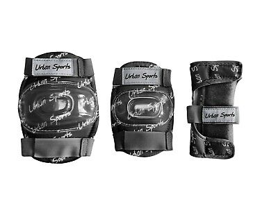 Kids Knee Pads, Elbow Pads and Wrist Guards (Set of 6 Pads) - available in S/M/L