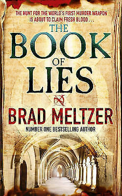 The Book of Lies by Brad Meltzer (Paperback) New Book