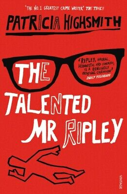 The Talented Mr.Ripley by Patricia Highsmith (Paperback) New Book