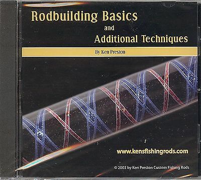 RodBuilding Basics and Additional Techniques by Ken Preston - DVD