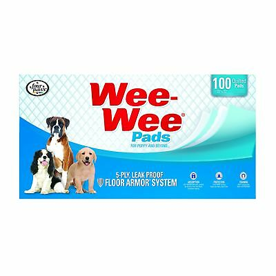 Four Paws Wee-Wee Pet Training and Puppy Pads 100 ct (box)